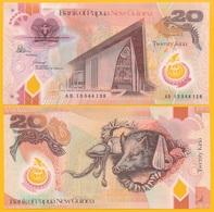 Papua New Guinea20 Kina P-31b 2013 UNC Polymer Banknote - Papua New Guinea