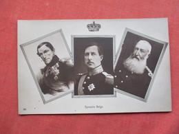 RPPC  Dynastie Belge   Ref 3421 - Royal Families