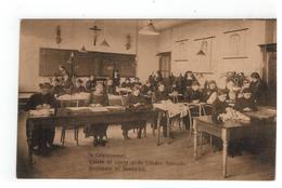 's Gravenwezel. Classe De Coupe Et De Travaux Manuels.Snijlessen En Handwerk, Pensionnat Du Saint-Coeur De Marie 1913 - Schilde