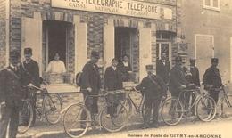 Givry-en-Argonne - Bureau De Poste - Facteurs à Bicyclette - Cecodi N'1556 - Givry En Argonne