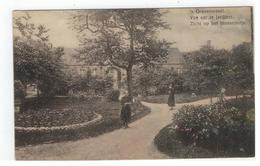's Gravenwezel.Vue Sur Le Jardinet.Zicht Op Het Binnenhofje;Pensionnat Du Saint-Coeur De Marie - Schilde