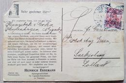 Germany Dresden 1911 Perfin Lolland - Deutschland