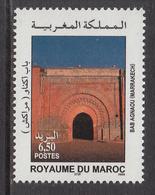 2004 Morocco Maroc  Bab Agnaou Tourism Architecture Complete Set Of 1 MNH - Morocco (1956-...)