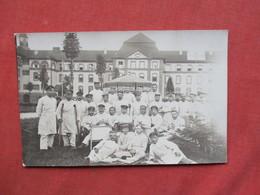 RPPC   War 1914-18  Injured German Soldiers Hospital      Ref 3421 - War 1914-18