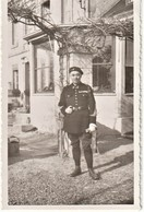 Rare Photo Chasseur Alpin Février 1940 - 1939-45