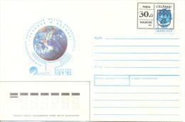 "1993. Moldova, Local OP ""30.00"" On Soviet Stamp, Calarasi District, Mint/** - Moldawien (Moldau)"