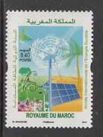 2012 Morocco Maroc  Green Energy Environment Complete Set Of 1 MNH - Morocco (1956-...)