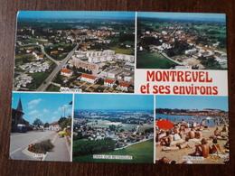 L21/666  MONTREVEL Et Ses Environs . Multivues - France