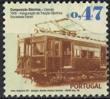 Portugal 2008 Oblitéré Used Transports Publics Cascais Train Traction Electrique SU - Oblitérés