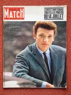 La 1ère Couverture De Johnny Hallyday Paris Match Kertlag Pleumeur Bodou Gina Lolobrigida Caroline De Monaco 1962 - 1950 à Nos Jours