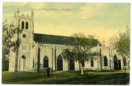 INDIA / PAKISTAN : SIALKOTE - ROMAN CATHOLIC CHURCH / POSTCARD ARRIVED FROM PRINTERS - Pakistan