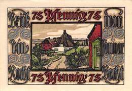 75 Pfg. Notgeld Norddorf AU/EF (II) - Lokale Ausgaben