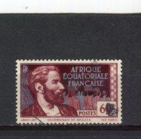 AFRIQUE EQUATORIALE FRANCAISE - Y&T N° 109° - Savorgnan De Brazza Surchargé LIBRE - A.E.F. (1936-1958)