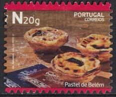 Portugal 2017 Oblitéré Used Dessert Traditionnel Pastel De Belém Nata SU - 1910-... République