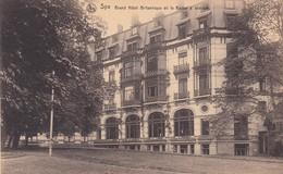 Spa Grand Hotel Britannique Ou Le Kaizer A Abdique - Postcards
