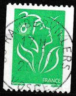 """FRANCE : N° 3742 Oblitéré """"N° Noir Au Dos : 205"""" (Marianne De Lamouche) - PRIX FIXE - - 2004-08 Marianne Of Lamouche"""