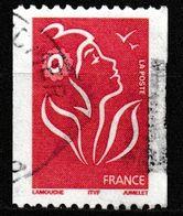 """FRANCE : N° 3743 Oblitéré """"N° Noir Au Dos : 321"""" (Marianne De Lamouche) - PRIX FIXE - - 2004-08 Marianne Of Lamouche"""