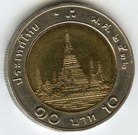 Thaïlande Thailand 10 Baht 2532 ( 1989 ) KM 227 - Thaïlande