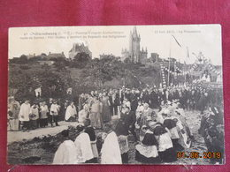 CPA - Châteaubourg - 1er Congrès Eucharistique Route De Servon Le 22 Juin 1913 - Arrivée Au Reposoir Des Religieuses - Other Municipalities