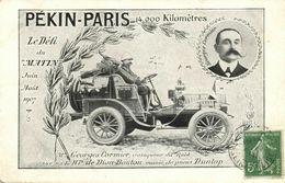 China, PEKING - PARIS Automobile Race Of Le Matin (1907) Georges Cormier - China