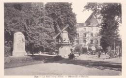 Spa Le Parc Vers L Hotel Memorial Et Moulin - Postcards
