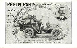 China, PEKING - PARIS Automobile Race Of Le Matin, Car (1907) Georges Cormier - China