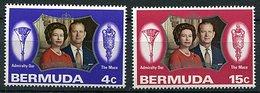 Bermudes ** N° 284/285 - Noces D'argent De La Reine Elizabeth II - - Bermuda