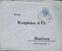 Spain WESTPHALEN & Co., MADRID 1921 Cover Brief HAMBURG Germany Alphonse XIII. - 1889-1931 Königreich: Alphonse XIII.