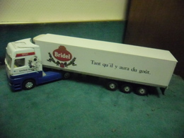 CAMION 1/43 SEMI REMORQUE Tracteur NASA United States Realtoy Et Remorque LBS Bridel - Camions