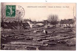 5033 - Chatillon-Coligny ( 45 ) - Canal De Briare ( Le Port ) - - Chatillon Coligny