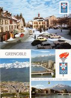 Lot De 2 Cartes Postale -  X° Jeux Olympiques D'hiver 1968 - Grenoble - - Grenoble