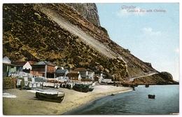 GIBRALTAR : CATALAN BAY WITH CLOTHING - Gibraltar