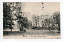 Paris: Un Coin Des Champs Elysees (19-1020) - Arrondissement: 08