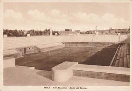 Foro Mussolini, Stadio Del Tennis, Roma, Italia, Anni 1930, Non Viaggiata - Stades & Structures Sportives