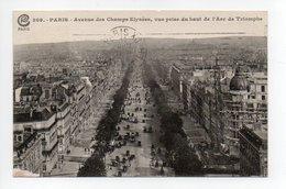 Paris: Avenue Des Champs Elysees, Vue Prise Du Haut De L'Arc De Triomphe (19-1022) - Arrondissement: 08
