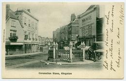 KINGSTON UPON THAMES : CORONATION STONE / ADDRESS - LONDON, WEST NORWOOD, YORK LODGE - London Suburbs