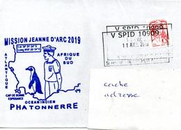 PHA TONNERRE Mission Jeanne D'Arc 2019 Obl. VSPID 10909 11/04/19 - Marcophilie (Lettres)
