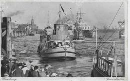 AK 0258  Hamburg - Jonashafen / Photo Hartz Um 1940 - Dampfer