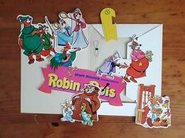 Rare Mobile ROBIN DES BOIS Disney Robin Hood Cadeau Vert Baudet Datant De La Fin Des Années 70 - Merchandising