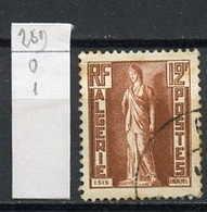 Algérie - Algerien - Algeria 1952 Y&T N°289 - Michel N°300 (o) - 12f Iris - Algérie (1924-1962)