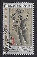 Czechoslovakia 1985  100th Ann. Of Prague Uni. Of Applied Arts (o) Mi.2800 - Czechoslovakia