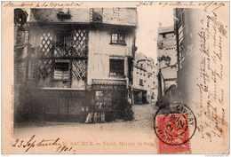 SAUMUR VIEILLE MAISON EN BOIS PRECURSEUR 1901 TBE - Saumur