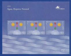 Portugal / Madeira  2001 Mi.Nr. Block 23 (212) , EUROPA  CEPT - Lebensspender Wasser - Postfrisch / MNH / (**) - Europa-CEPT