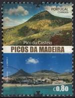 Portugal 2017 Oblitéré Used Pico Do Castelo Madeira Madère SU - Madeira