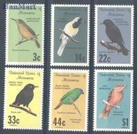 Micronesia 1988 Mi 77-82 MNH ( ZS7 MCR77-82 ) - Vögel
