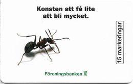 Sweden - Telia - Föreningsbanken Ant - 06.1997, 10.500ex, Used - Sweden