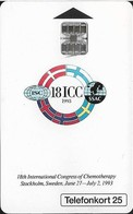 Sweden - Telia - 18th ICC Anniv. - 25U, 05.1993, 12.000ex, Mint (check Photos) - Sweden