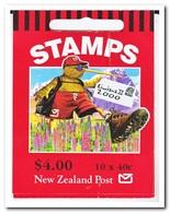 Nieuw Zeeland 2000, Postfris MNH, Kiwiana ( Booklet, Carnet ) - Boekjes