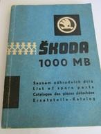 ŠKODA 1000 MB EDITION 1964 - Sachbücher