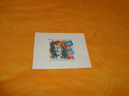 BLOC FEUILLET EPREUVE DE LUXE CNEP PARIS 95 HOMMAGE AU GENERAL DE GAULLE. / 49e SALON PHILATELIQUE D'AUTOMNE - CNEP